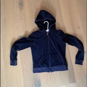 Navy blue girls sweater
